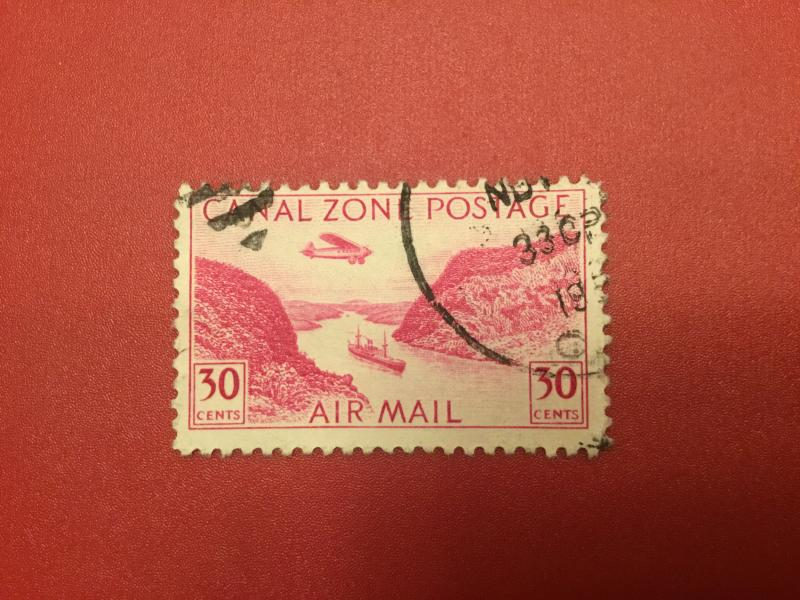 US Canal Zone C12 VF  Used