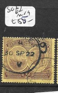BERMUDA (PP1801B)  KGV 3D  SG 62  VFU