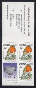 Ireland 1040Ab Birds Booklet MNH VF
