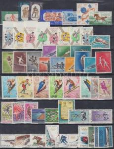 Thematic lot stamp 1964-1967 Olympics motive 3 block + 17 sets MNH 1964WS176672