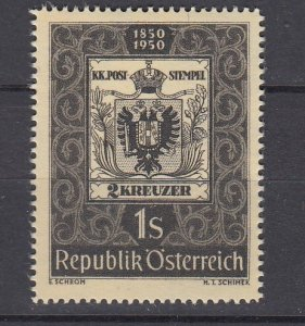 J29479, 1950 austria set of 1 mh #572 stamps