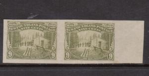 Newfoundland #100a XF Mint Imperf Pair