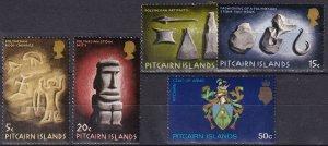 Pitcairn Islands #119-22, 129  MNH  CV $7.95 (Z6126)