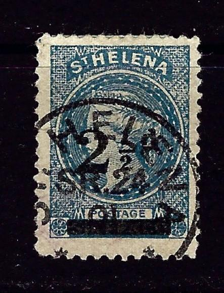 St Helena 47 Used 1893 issue nice cancel