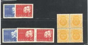Sweden  lot of NH  -    Lakeshore Philatelics