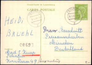 Luxembourg, Government Postal Card