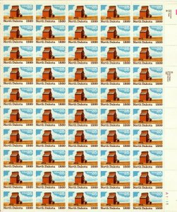 North Dakota Sheet Sheet of Fifty 25 Cent Postage Stamps Scott 2403