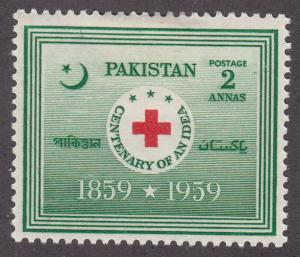Pakistan 104 International Red Cross 1959