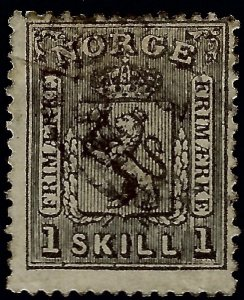 Norway #11 Used Fine SCV$70...Chance to buy a Bargain!