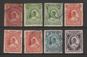 Niger Coast Protectorate x 8 QV most used