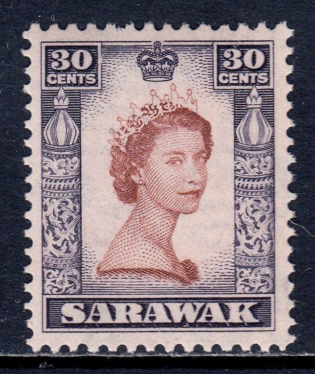 Sarawak - Scott #207 - MNH - SCV $8.00