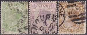 Victoria #147-9 F-VF Used CV $6.05 (A19034)