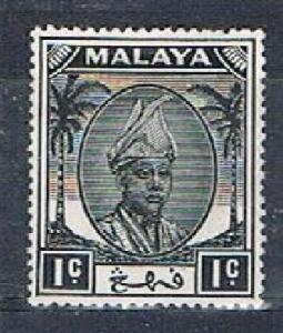 MALAYA (Pahang) 16109 - 1950 1c definitive MH single