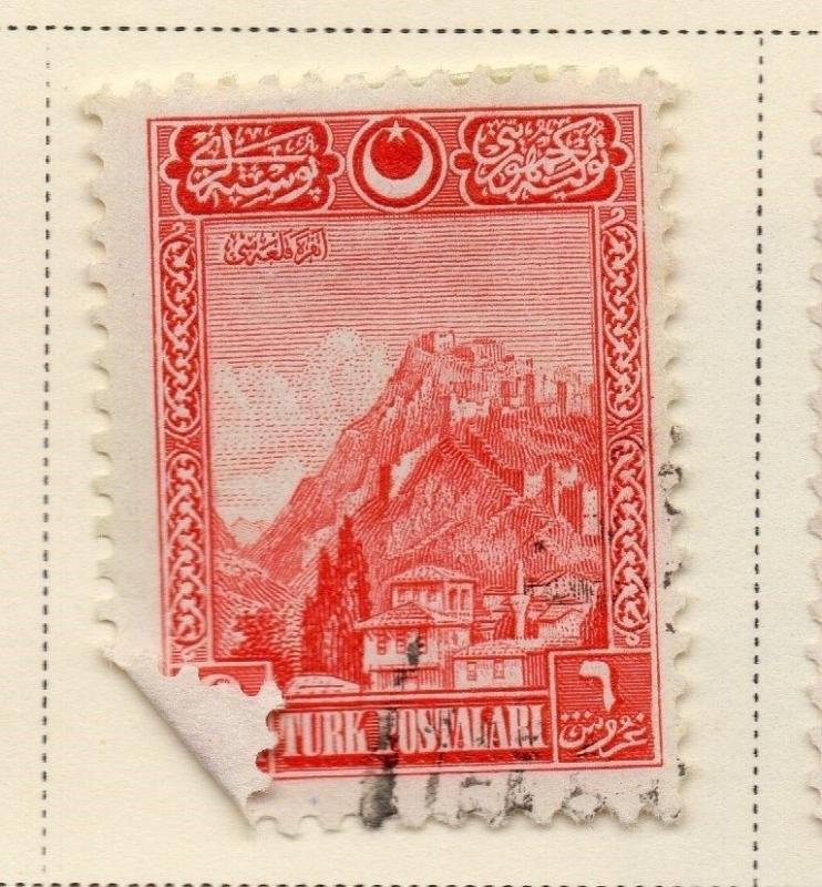 Turkey 1926 Early Issue Fine Used 6G. 091691