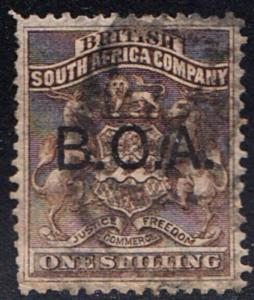 BRITISH CENTRAL AFRICA # 7 used - SG7