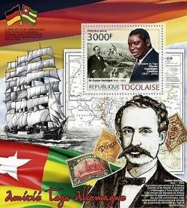 Togo - Togo & Germany - Souvenir Sheet 20H-429
