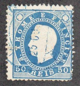 St Thomas & Prince Islands - 1887 - SC 20 - Used