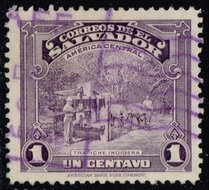 El Salvador #574 Indian Sugar Mill; Used (0.25) (1Stars)