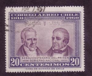Chile Sc. # C220B Used