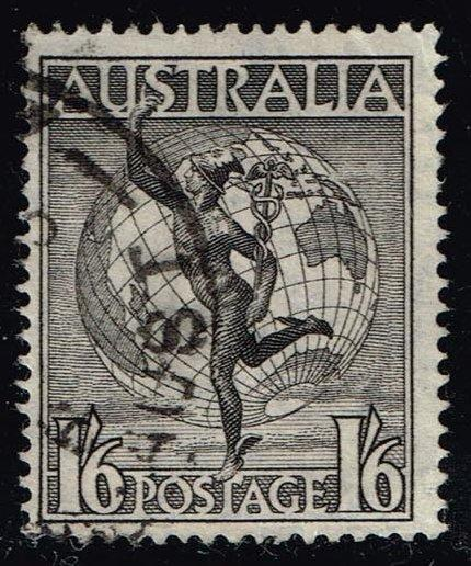 Australia #C6 Mercury and Globe; Used (0.60)