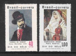 Brazil #1191-92 MNH Set of 2 Singles