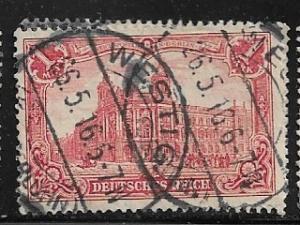 Germany Mi. #94 A I / Sc. #92  used L89