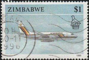 Zimbabwe, #630 Used From 1990