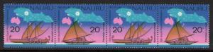 NAURU SG133/6 1975 SOUTH PACIFIC COMMISSION CONFERENCE MNH