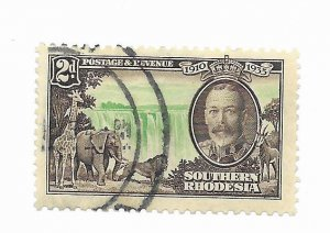 South Rhodesia #34 Used - Stamp - CAT VALUE $8.50