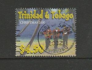 Trinidad & Tobago, 2000 Xmas $4.50 Used SG SG 890