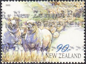 New Zealand #1851 Used