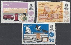 Brunei 294-6  MNH  World Communications Year 1983