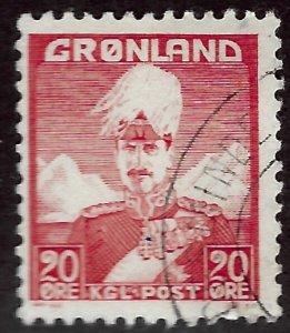 Greenland #6 Used F-VF... Good Value!