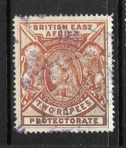 BRITISH EAST AFRICA 1897-03  2r   QV   FU  SG 93
