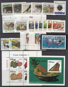 Salvador - Mint NH (8 modern items) - Catalog Value $51.40  [2R0292]