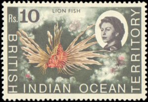 British Indian Ocean Territory #16-33, Complete Set(18), 1968-1973, Marine Li...