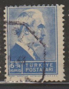 Turkey Sc#883 Used