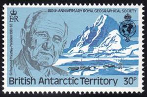 British Antarctic Territory # 81 mnh ~ 30p Raymond Priestly