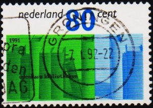 Netherlands. 1991 80c S.G.1625 Fine Used