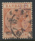 Barbados SG 102 SC# 67 Olive Black  Used    see scans and details