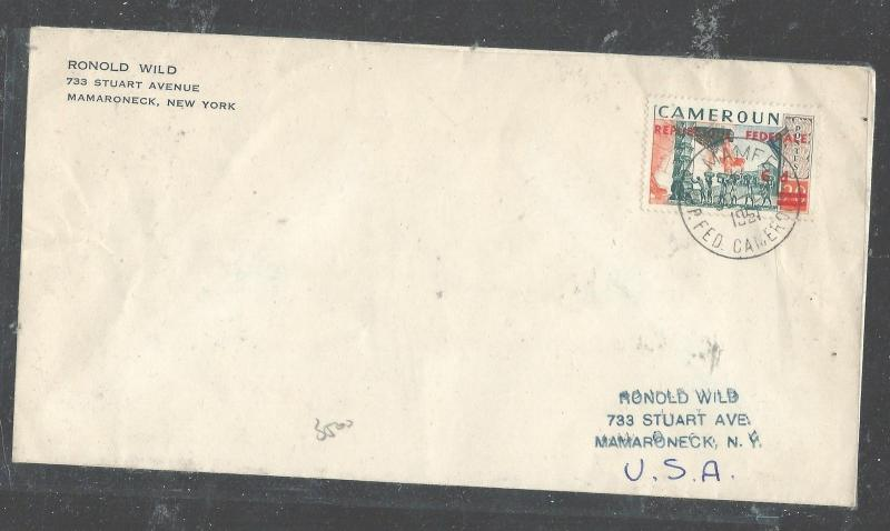 CAMEROON  (PP2708B) 1957 REP FEDERALE TO USA