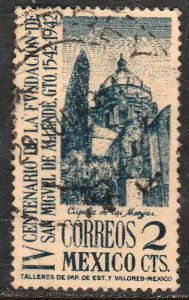 MEXICO 781, 2¢ San Miguel de Allende 400th Anniv Used. F-VF. (1007)