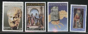 GREECE Scott 1257-1260 MNH** 1978 set