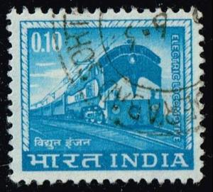 India #411 Electric Locomotive; Used (0.25)