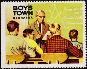 U.S.A. Date? Boys Town Label. Unused/No Gum