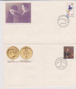 CANADA FDC FROM CANADA POST OFFICE STAMPS #914-915 LOT#M142