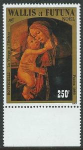 WALLIS & FUTUNA 1986 Botticelli Christmas MNH...................................