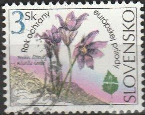 Slovakia, #206  Used , From 1995,  CV-$0.25
