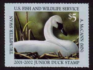 MALACK JUNIOR DUCK STAMP JDS  9 VF NH, Scarce stamp n4884