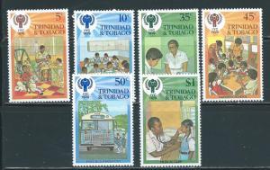 Trinidad & Tobago 302-7 IYC Child Year set MNH